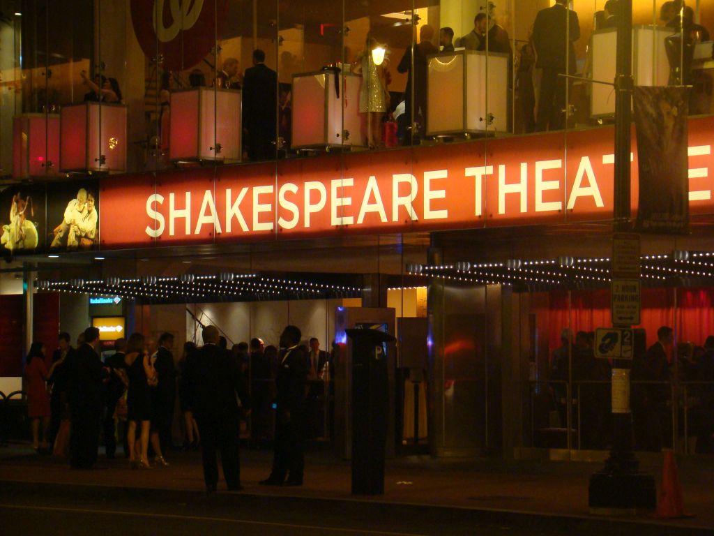 Shakespeare theatre in Washington D.C.