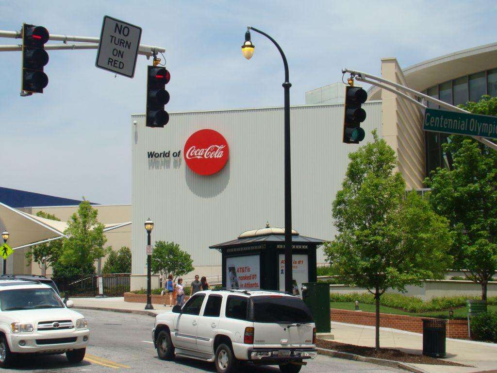 World of Coca Cola Museum in Atlanta, Georgia