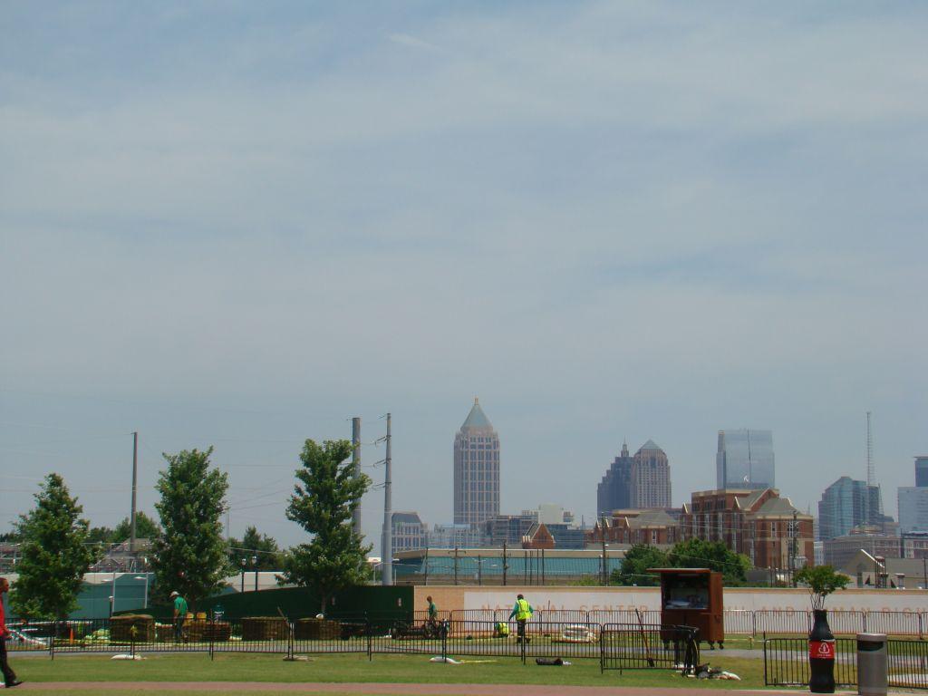 View to Down Town Atlanta