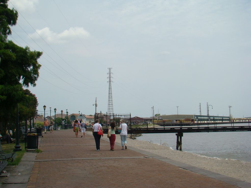 Pier in New Orleans
