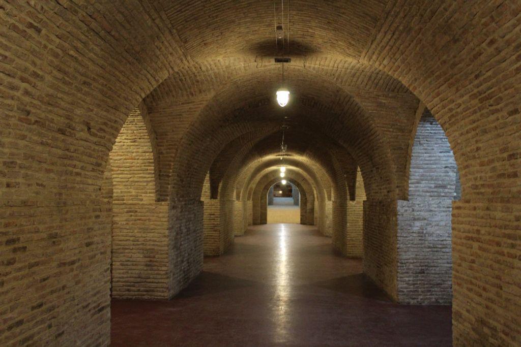 Wine cellars at Château Mukhrani