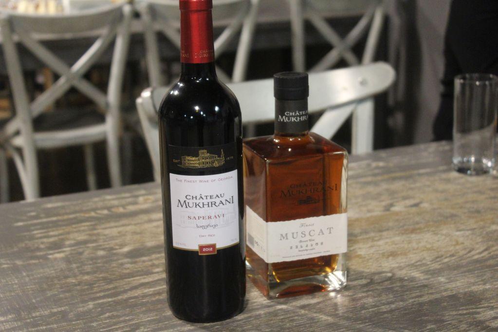 Wine tasting Château Mukhrani