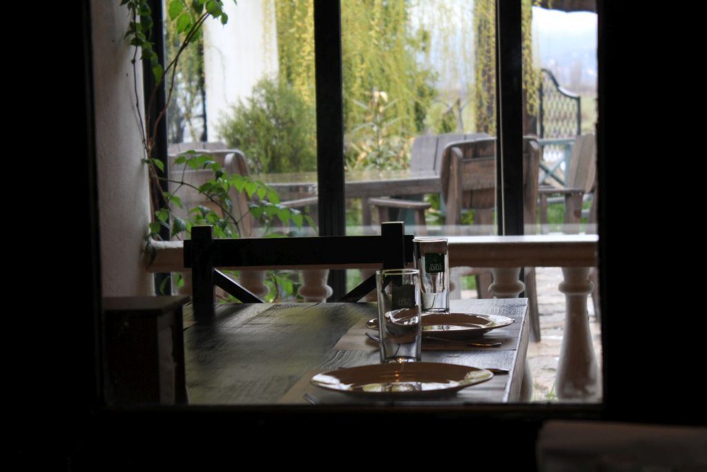 Interiour at Chashnagiri Natakhtari restaurant