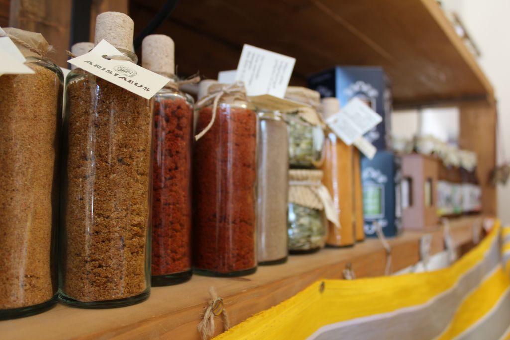 Georgian spices at Aristaeus boutique shop