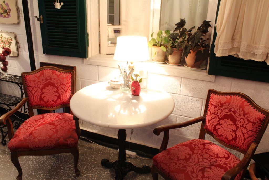 Inside Little Cafe