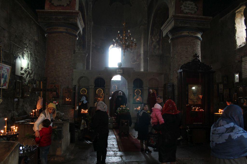 Inside Anchikhati Basilica