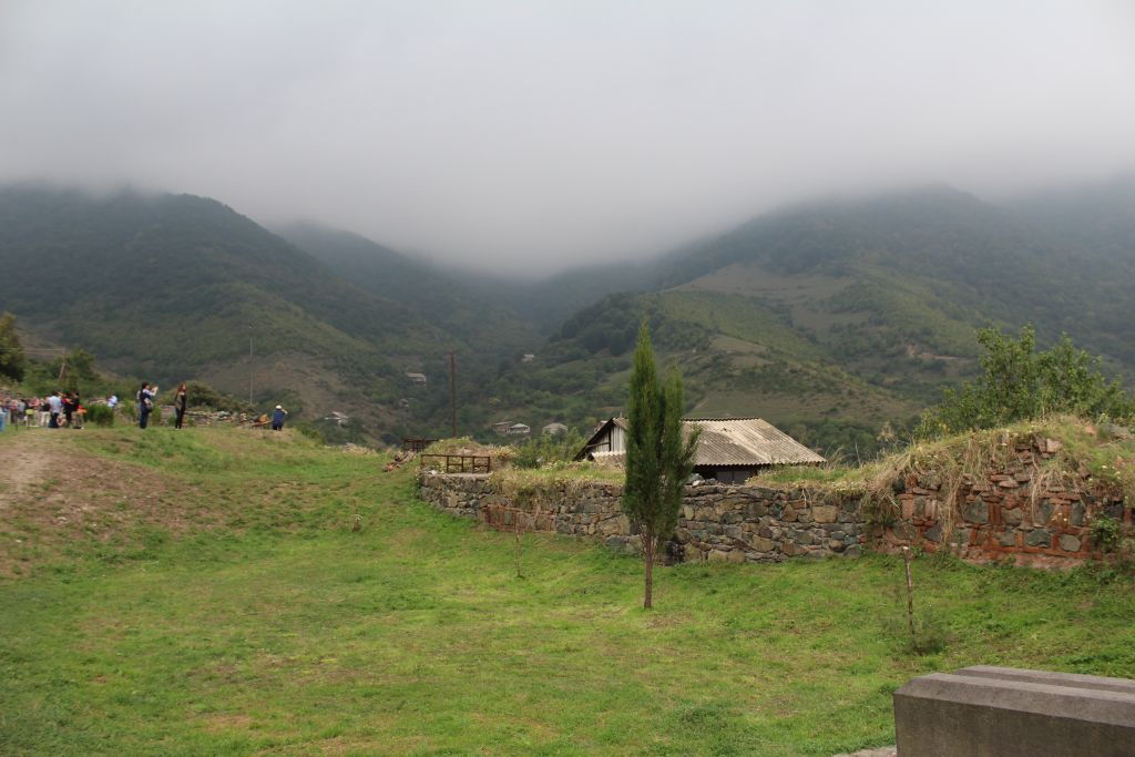 Landscape at Haghpat monastery