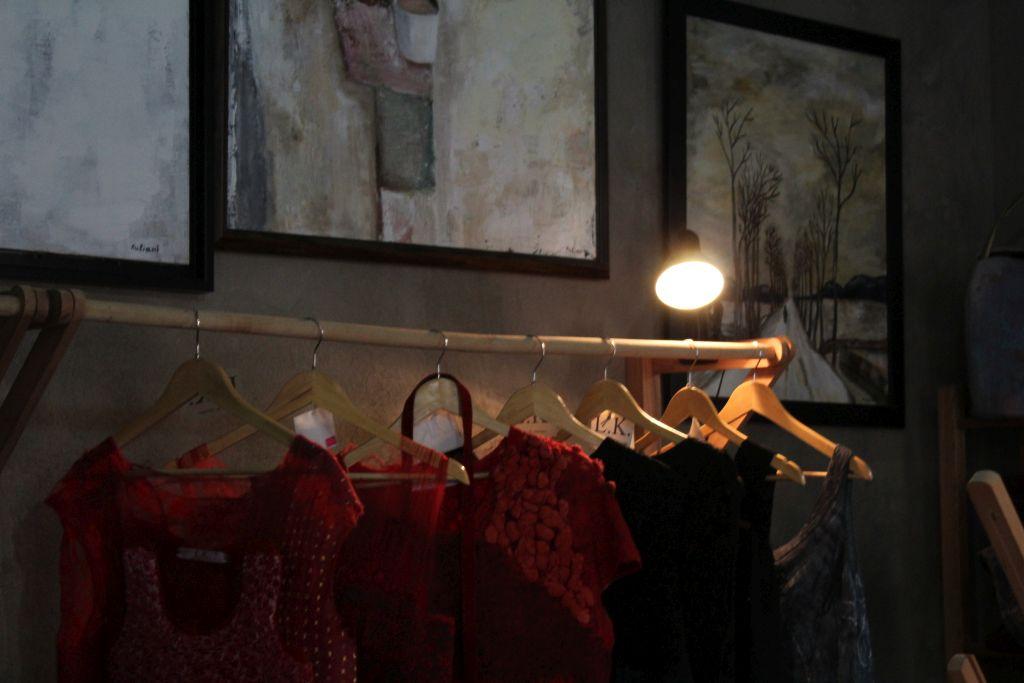 Dresses at Kon Tiki art studio
