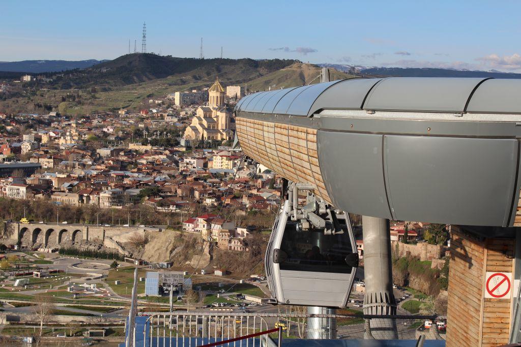 Tbilisi aerial tram