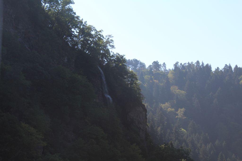 Waterfall in Borjomi gorge
