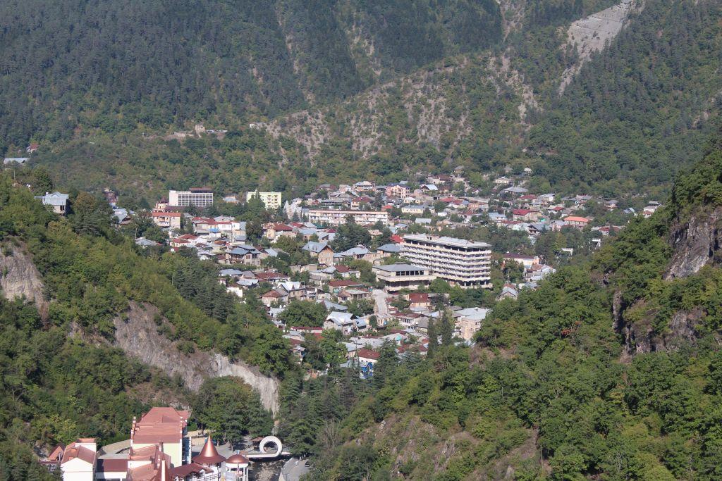 View to Borjomi