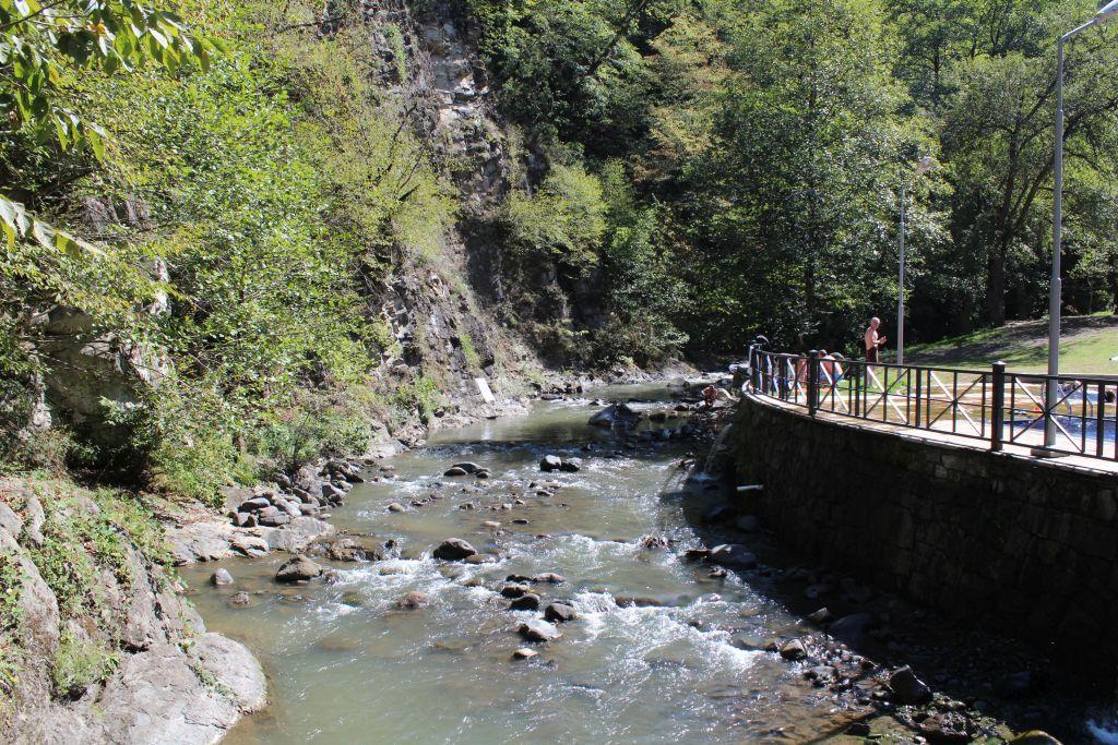 River Mtkvari in Borjomi