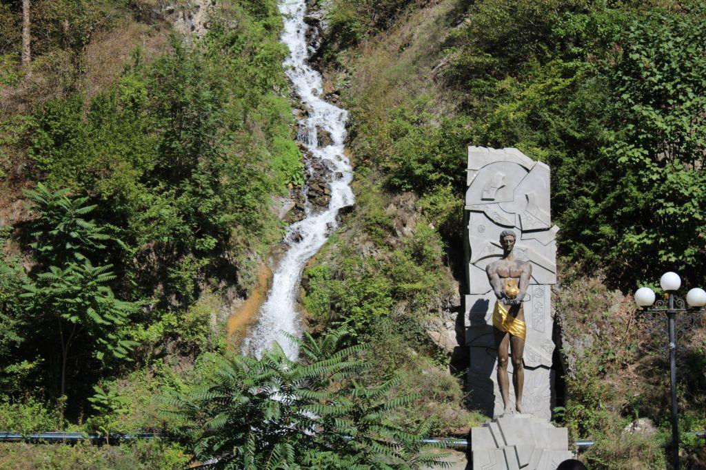 Waterfall in Borjomi