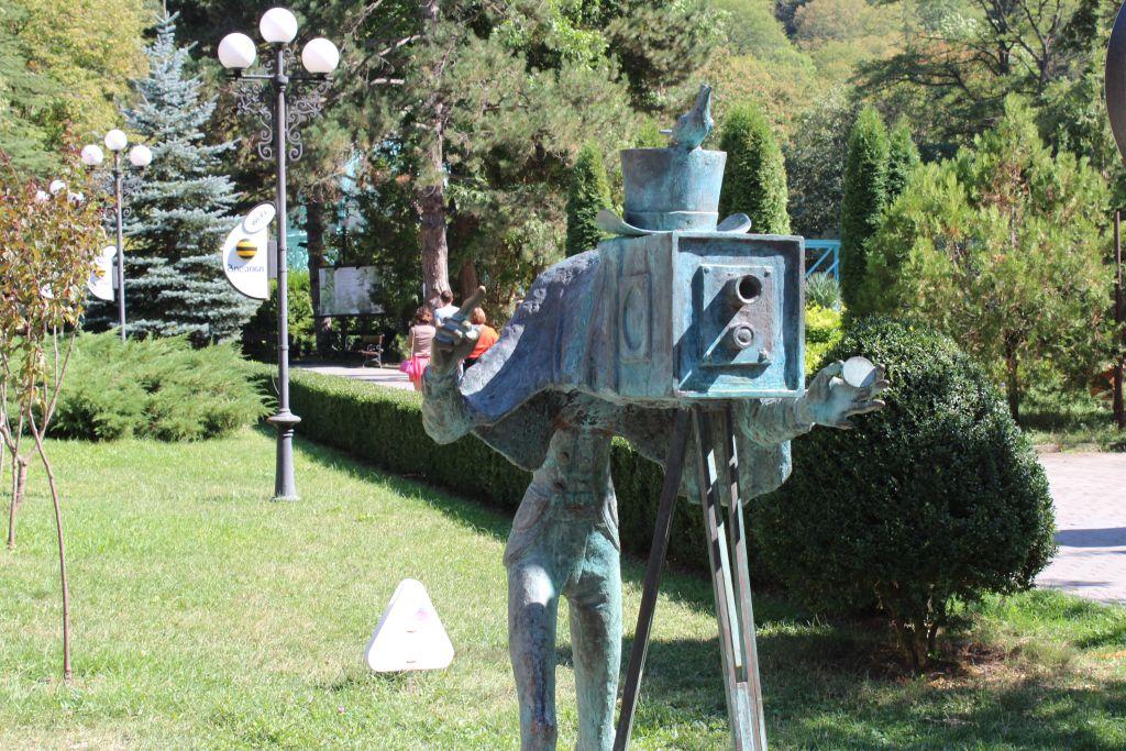 Photographer meets photographer in Borjomi