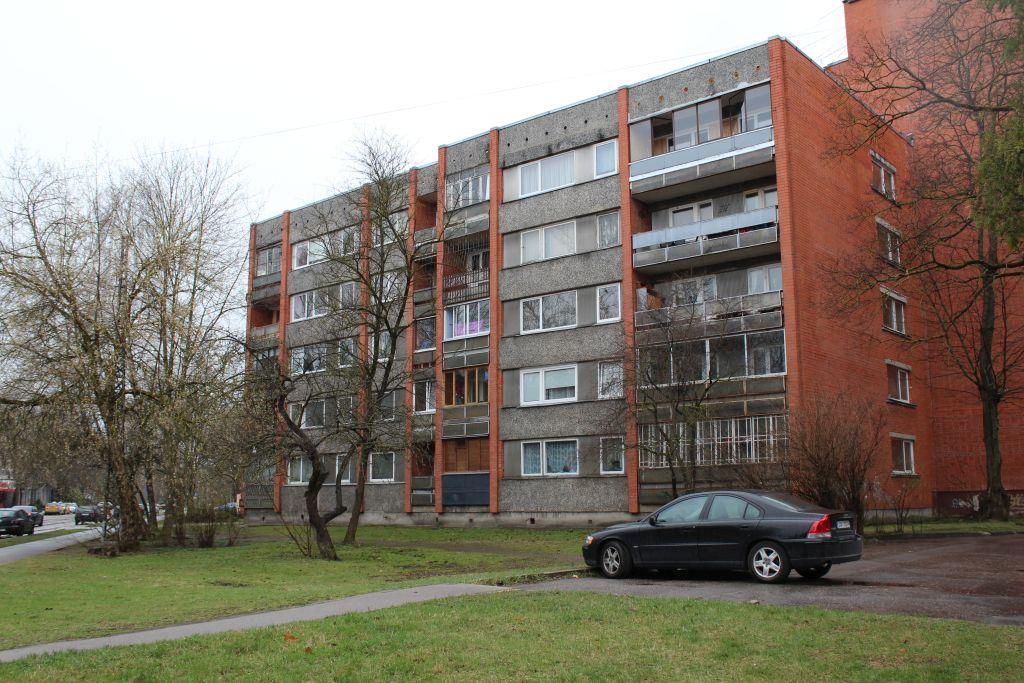 Soviet style block houses in Iļguciems