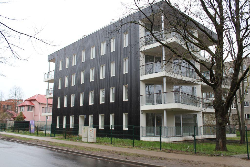 Recently built dwelling house in Iļģuciems