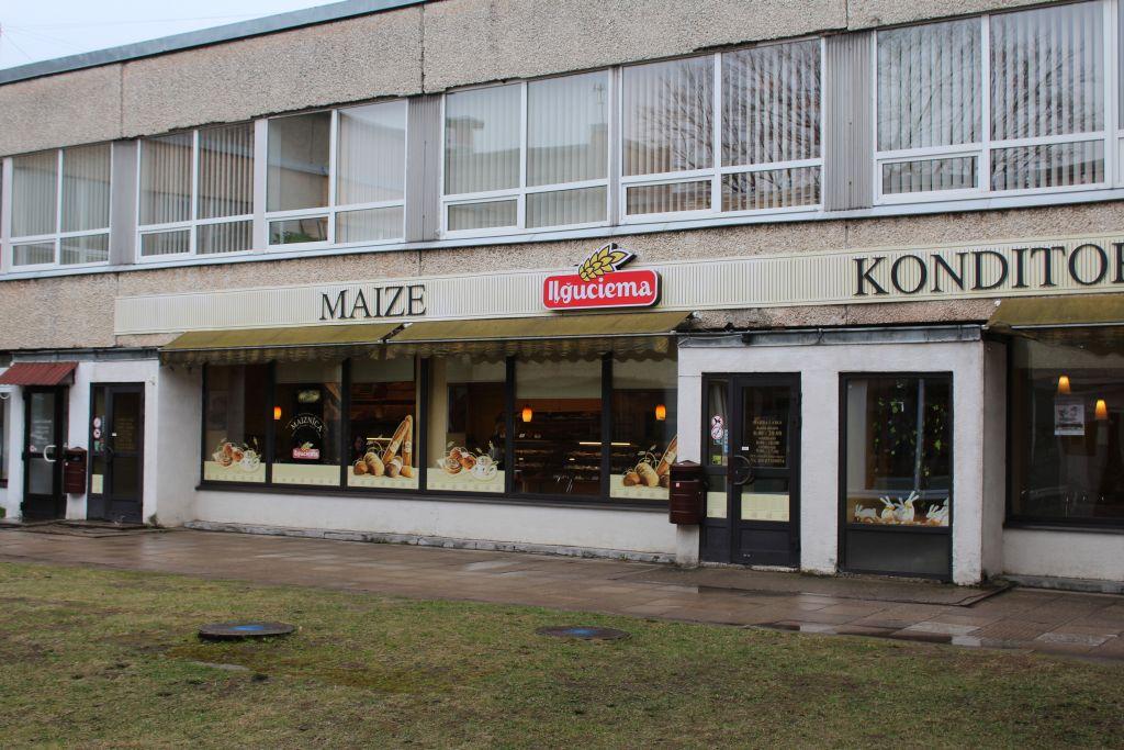 Iļģuciema bakery shop