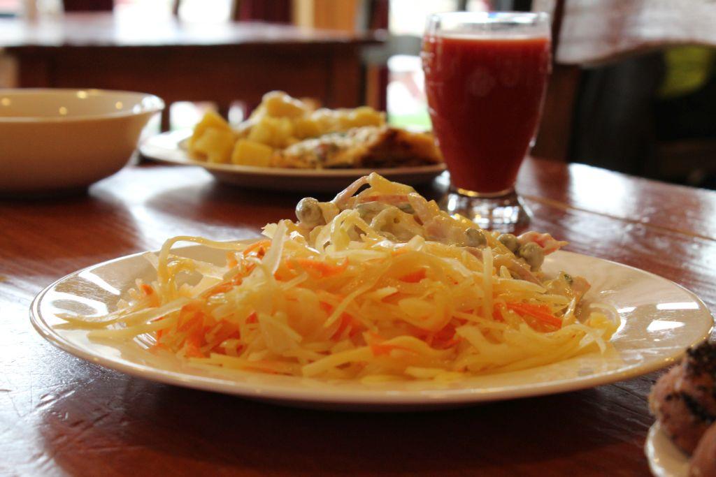 Salads at Elvi Bistro