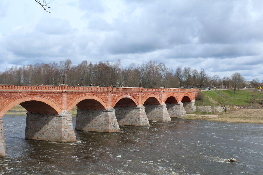 The Brick Bridge in Kuldīga