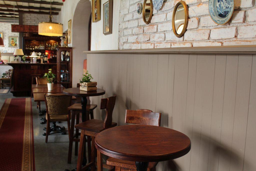 Interior at Bangert's Restaurant