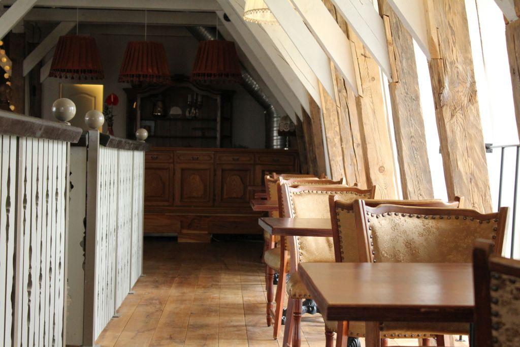 Interior at Restaurant Bangert's second floor