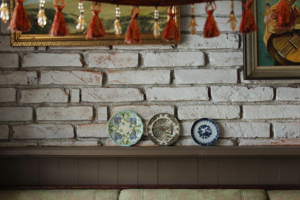 Interior at Restaurant Bangert's in Kuldīga