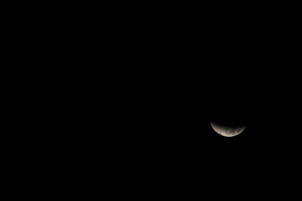 Lunar Eclipse in Tbilisi