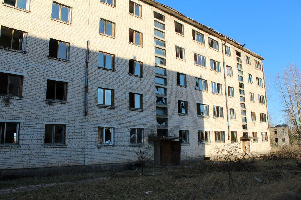 Abandoned block house