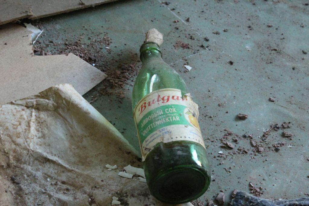 A bottle of aiva juice