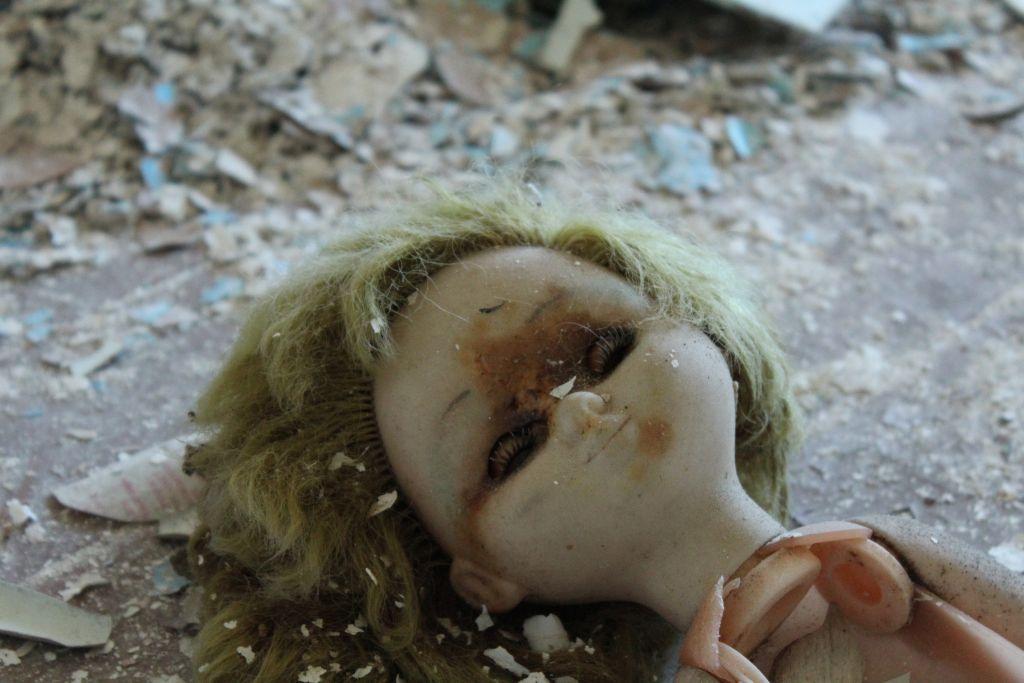 a doll head