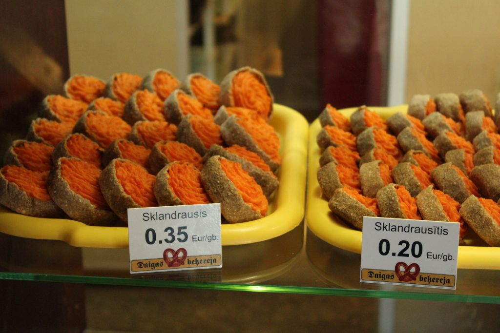 Sklandurausis - a local treat in Courland