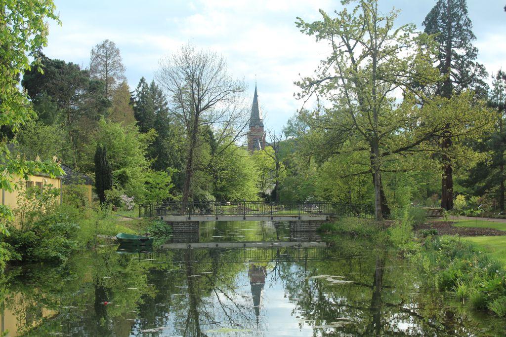 A channel near Poppelsdorf Palace