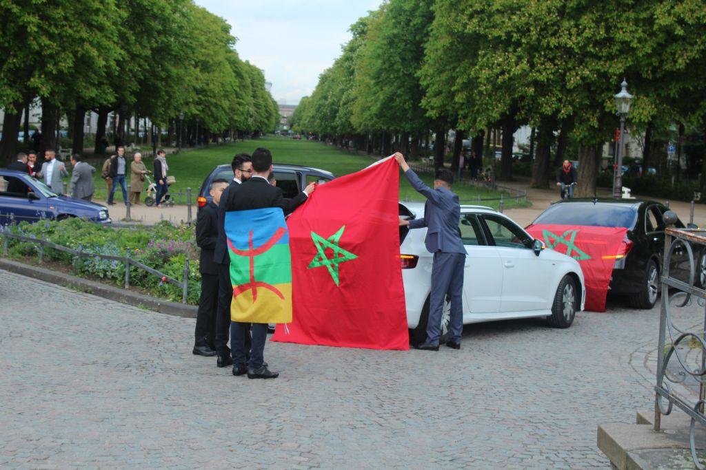 Moroccan weddings near Poppelsdorf Palace