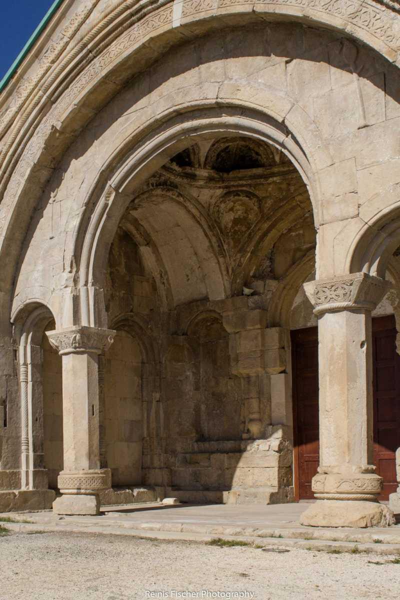 Entrance doors at Bagrati cathedral