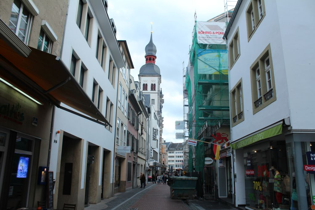 Bonngasse street in Bonn, Germany