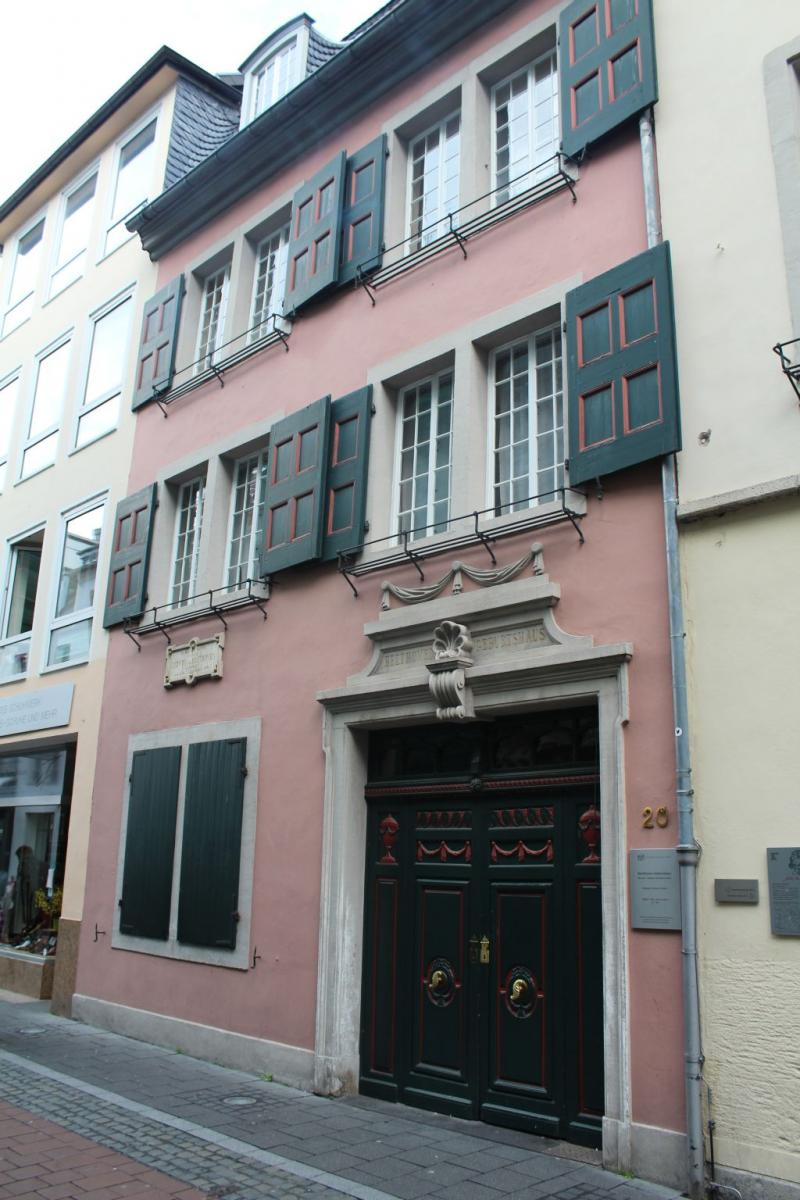 House in which Ludwig van Beethoven was born