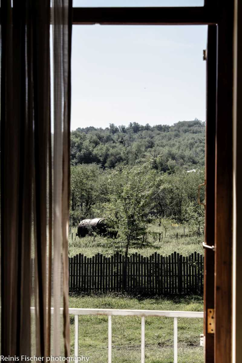View from Dzveli Gelati restaurant