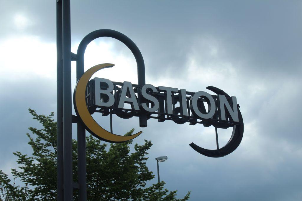 Bastion signboard