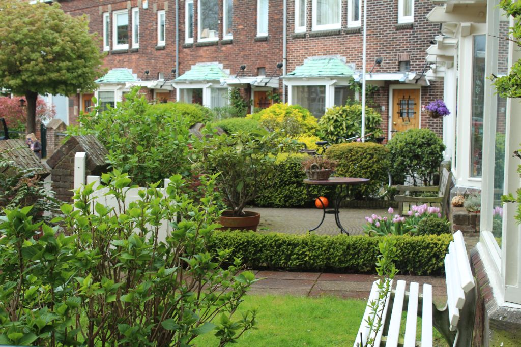 Beautiful yard in Leiden, Netherlands