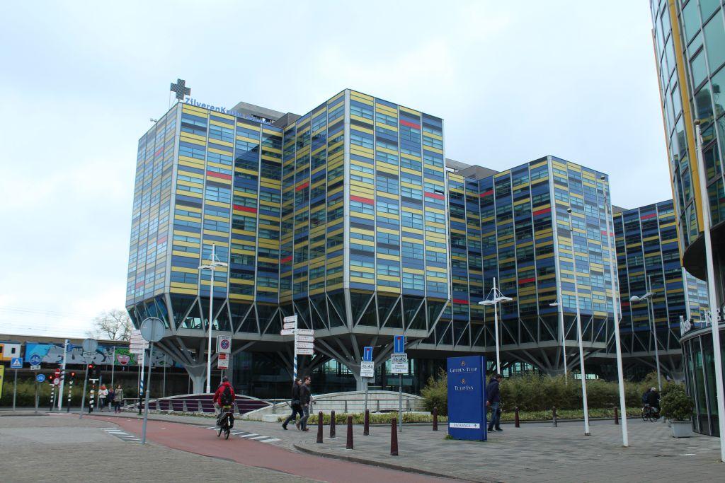 Impressive building at Leiden, Netherlands