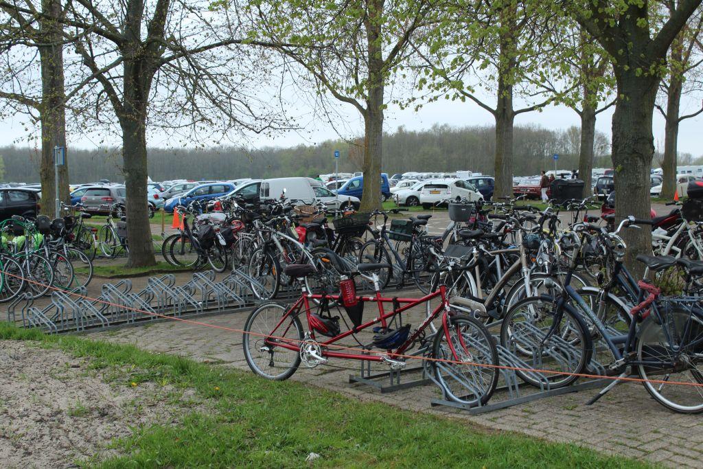 Parking lot at Keukenhof