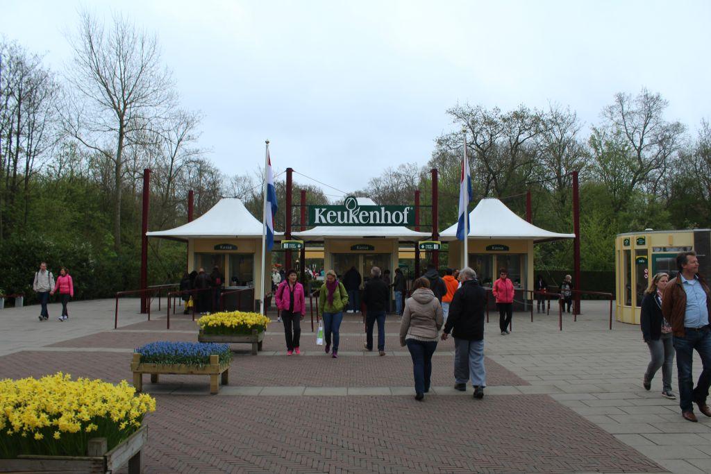 Entrance at Keukenhof