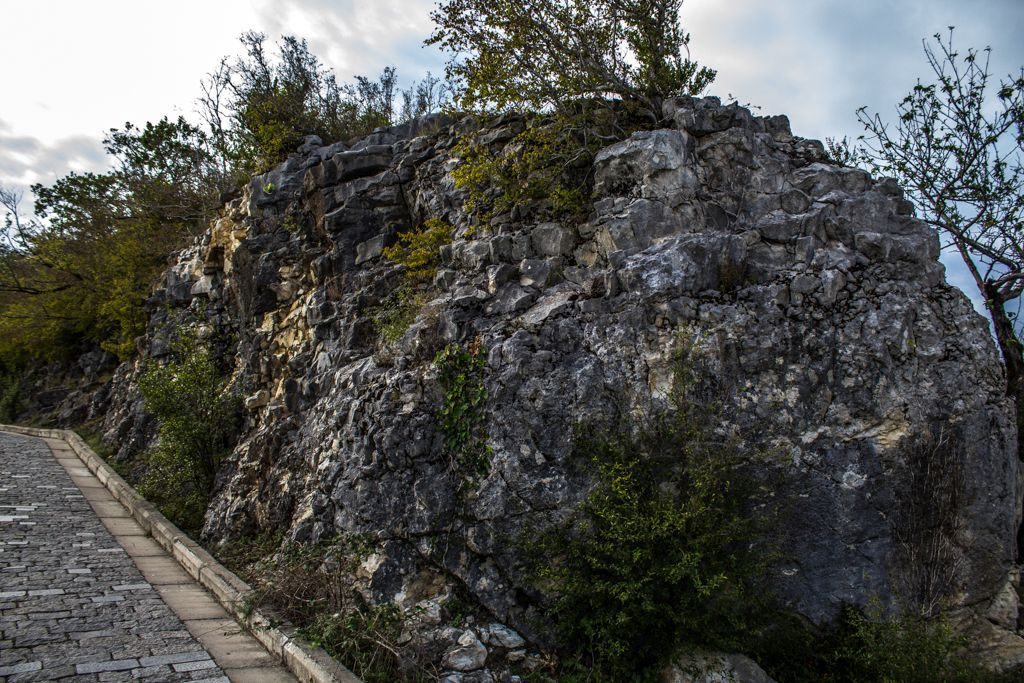 Rocks near Motsameta monastery