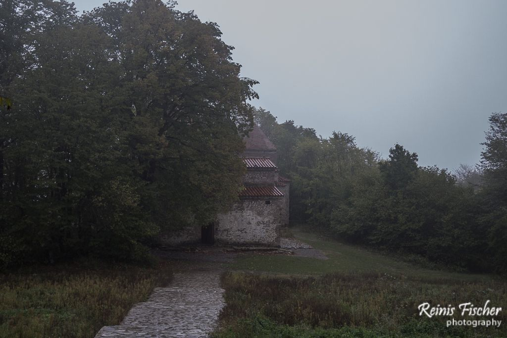 Dzveli Shuamta monastery complex near Telavi