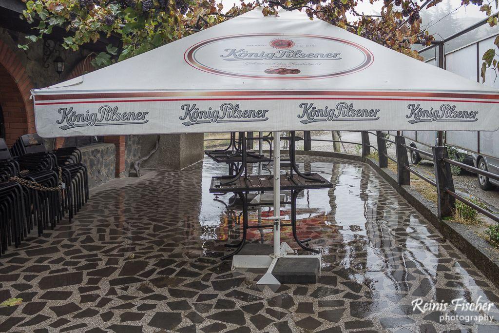 Outdoor Patio at Kafe Bari Zodiako