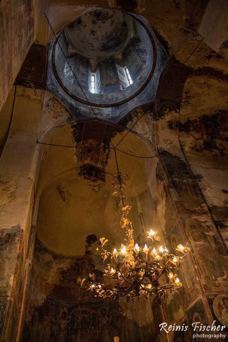Inside Gremi Church