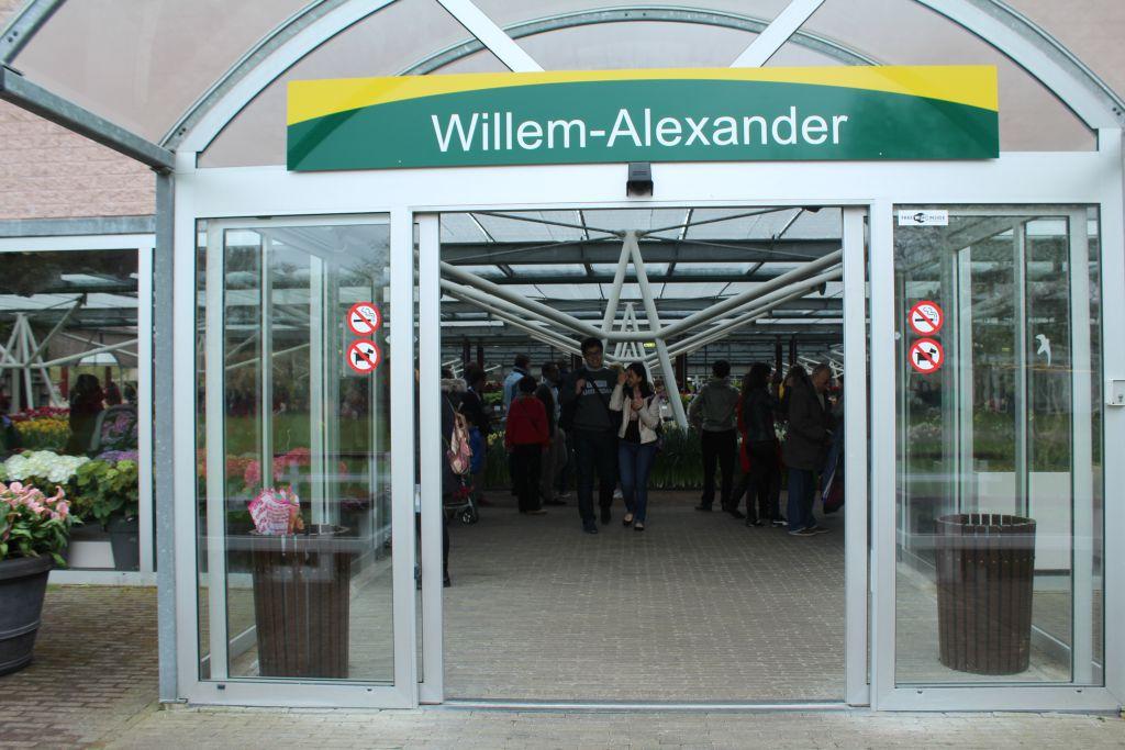 Willem Alexander expo at this garden
