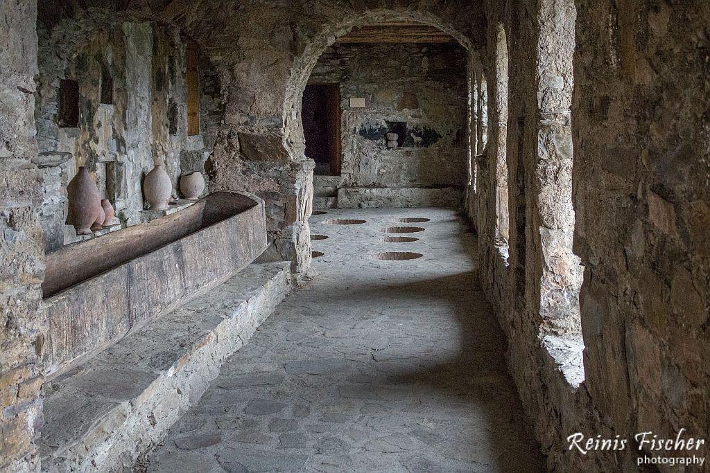 Marani / Wine Cellar at Nekresi monastery