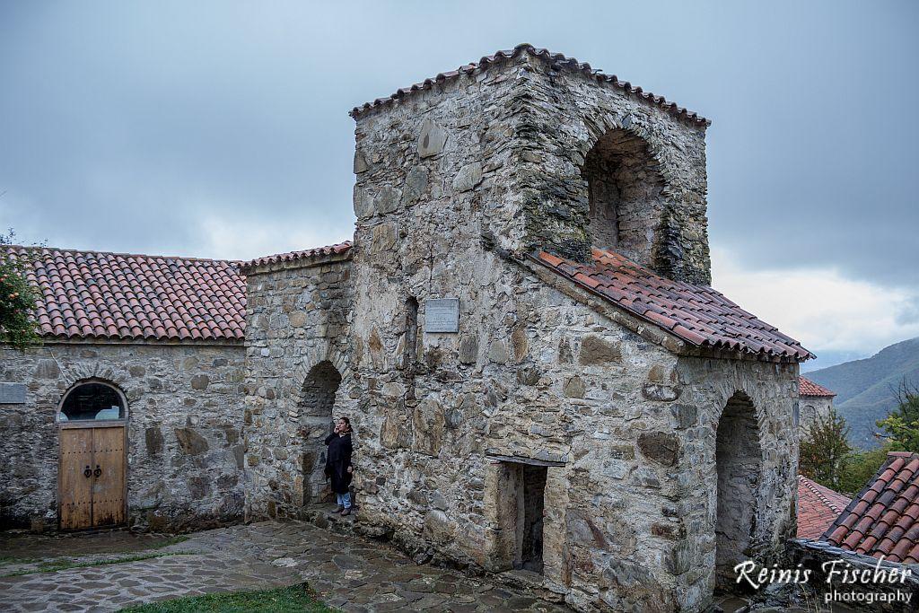 At Nekresi monastery complex in Georgia
