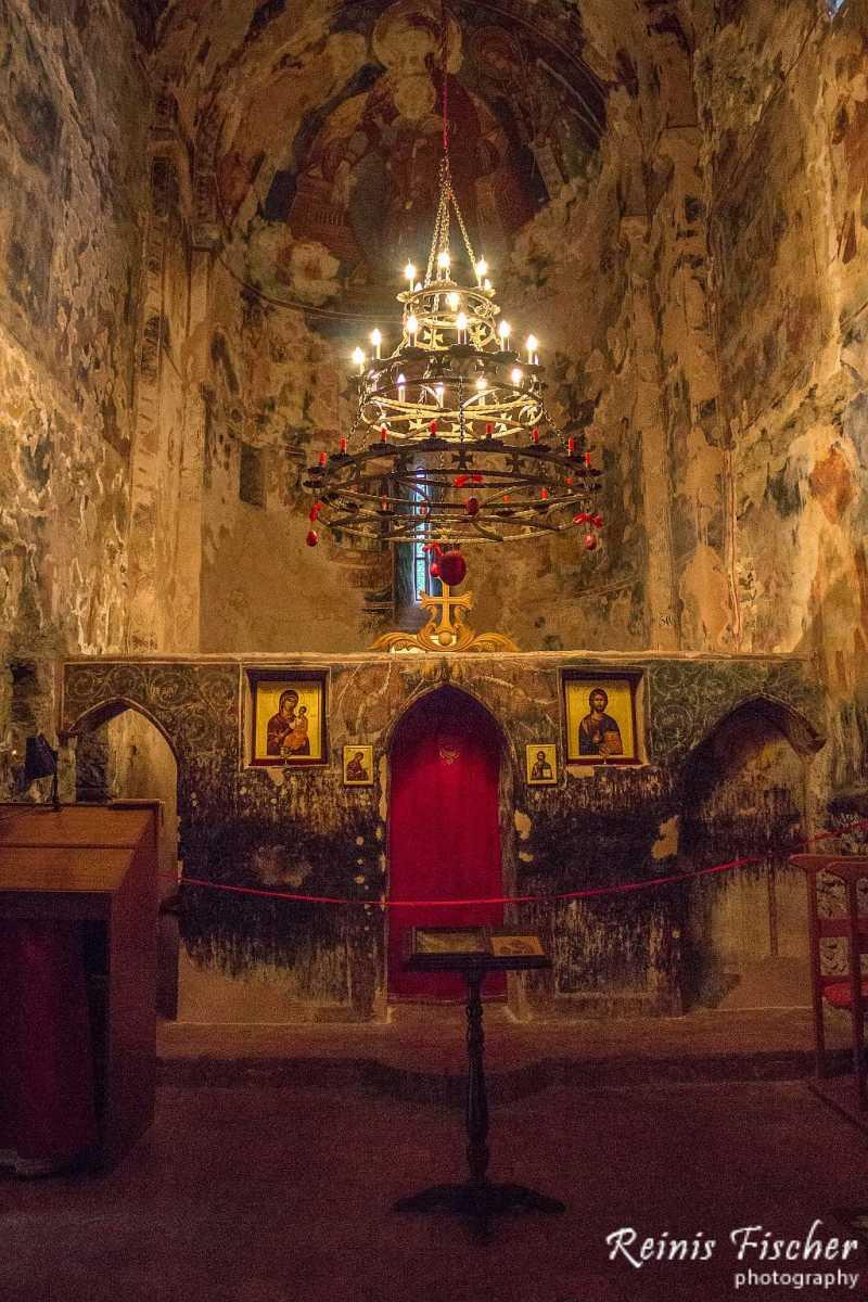 Inside Nekresi Church